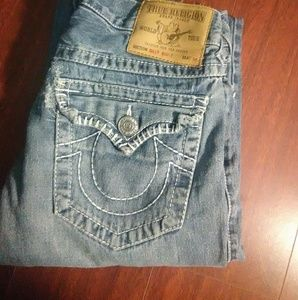 "True Religion ""Big Billy T"" Jeans"